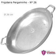 Frigideira Pergaminho com Alças 26 cm - Alumínio Vigôr