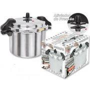 Panela de Pressão 12 litros Industrial Polida com Alças - Fulgor