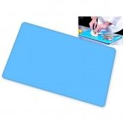 Tábua de Corte Azul em Polietileno 60 x 40 x 1 cm - Chef Work