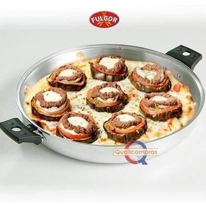 Kit Forma Americana e Forma Polida para Pizza e Assados Fulgor