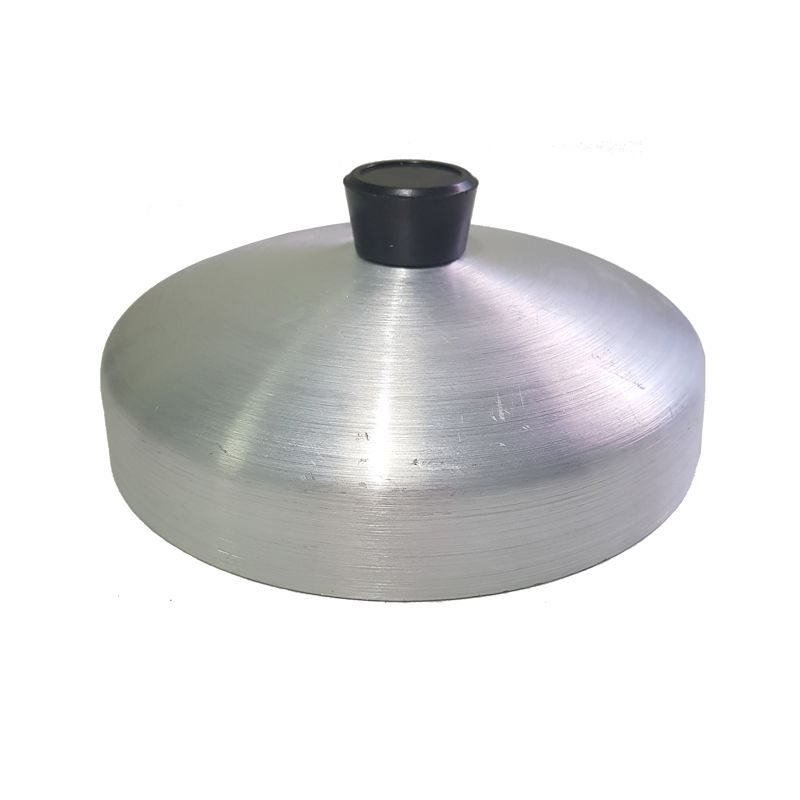 Abafador de Hambúrguer 16 cm - Alumínio Vigôr