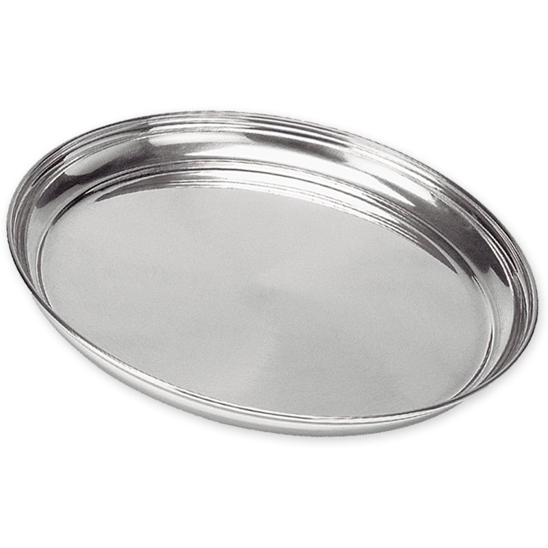 Bandeja Redonda Polida de Alumínio 30 cm - Vigôr