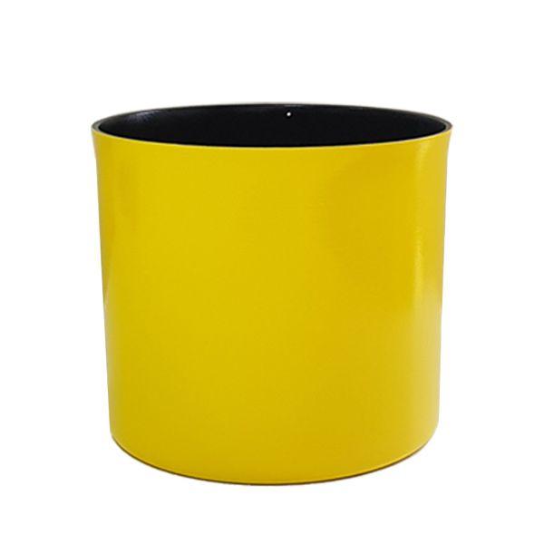 Cachepot em Alumínio Amarelo Citrino