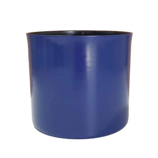 Cachepot em Alumínio Azul Sky