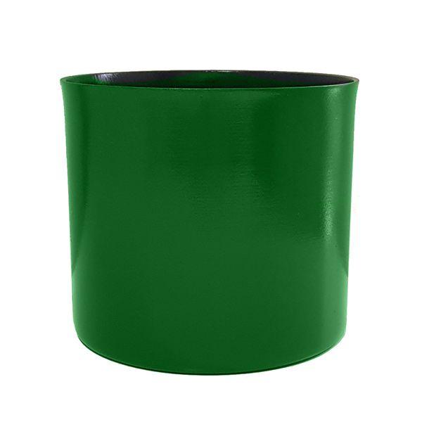 Cachepot em Alumínio Verde Folha