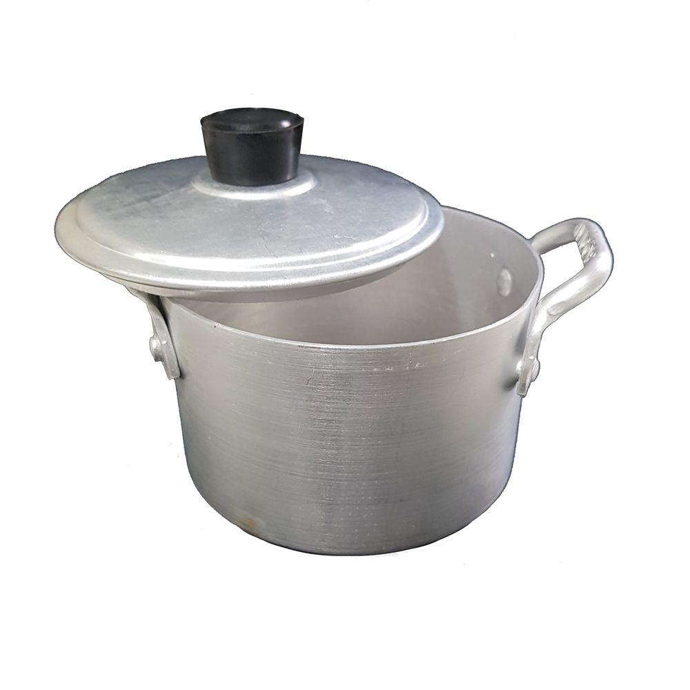 Caldeirão Mini N° 12 para Servir Feijoadas e Porções- Alumínio Vigôr