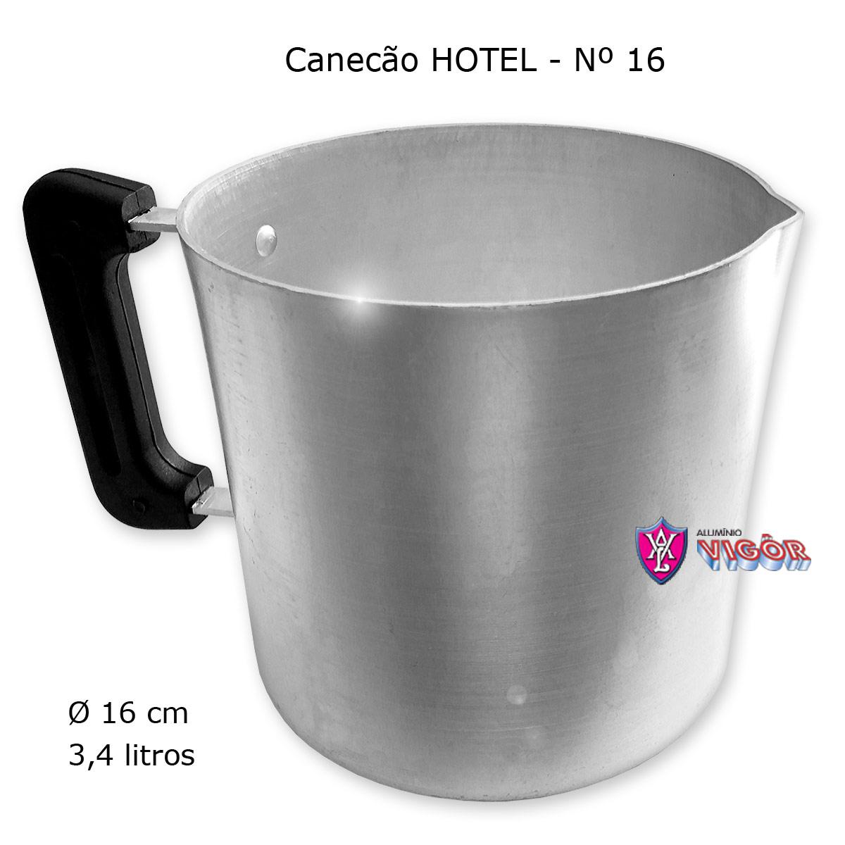 Canecão Hotel 16 com Cabo Baquelite - Vigôr