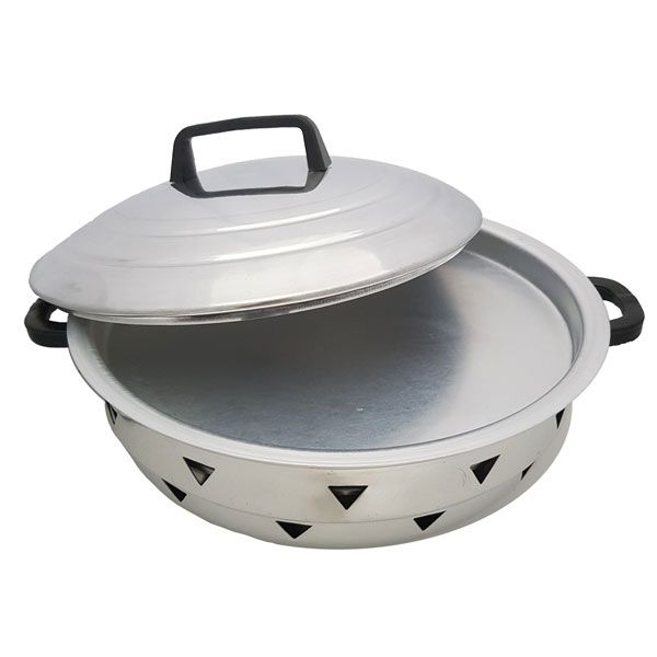 Forma Mult Cook para Pizza Bolo Pudim e Grelhados Alumínio Vigôr