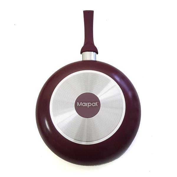 Frigideira Cerâmica Antiaderente Vinho 24 cm - Marpal