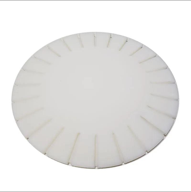 Disco / Molde / Tábua c/ base giratória para Pizza com Borda Pãozinho ou Vulcão 40 cm Polietileno - Chef Work