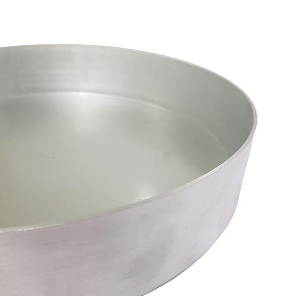 Forma Redonda com Fundo Removível 30 cm Alumínio Vigôr