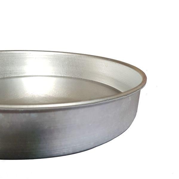 Forma Redonda para Torta e Bolo 30 cm em Alumínio  - Vigôr
