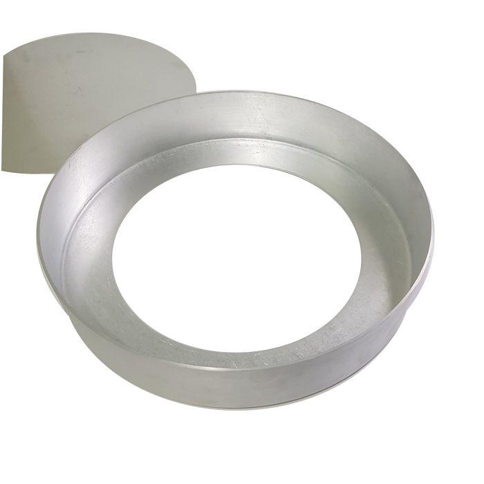 Kit Forma Redonda com Fundo Removível 25 e 30 cm Alumínio Vigôr