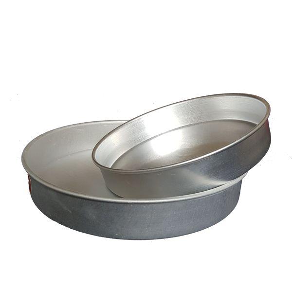 Kit 2 Formas Redondas para Bolo e Torta em Alumínio 25 e 30 cm - Vigôr