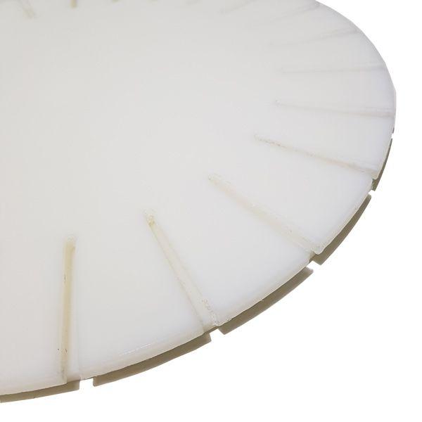Disco / Molde / Tábua FIXO para Pizza com Borda Pãozinho ou Vulcão 40 cm Polietileno - Chef Work