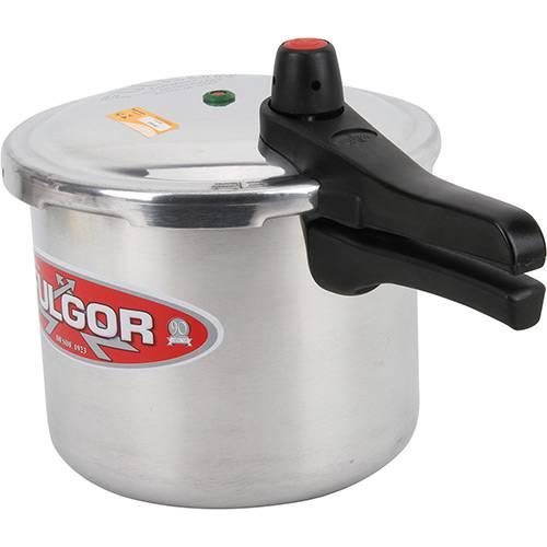 Panela de Pressão 6 litros Polida Tampa Fechamento Externo - Fulgor
