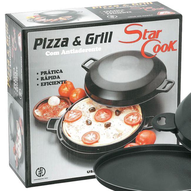 Star Cook Pizza e Grill antiaderente - Brilhante