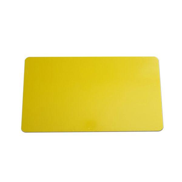 Tábua de Corte Média em Polietileno Amarela 23 x 38 x 1 cm