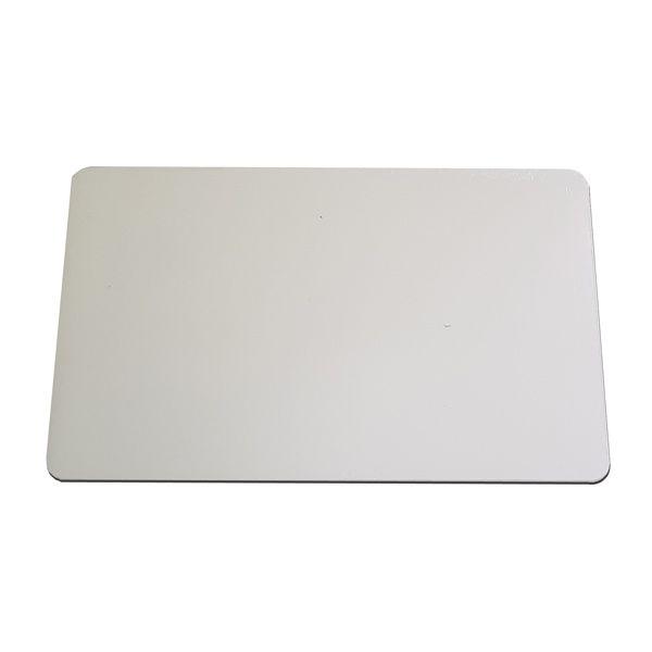 Tábua de Corte Grande em Polietileno 10 mm Branca 40 x 60