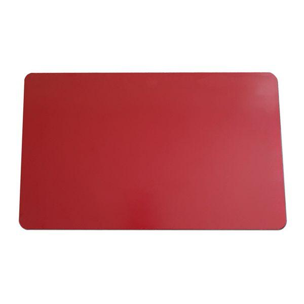 Tábua de Corte Grande em Polietileno 10 mm Vermelha 40 x 60