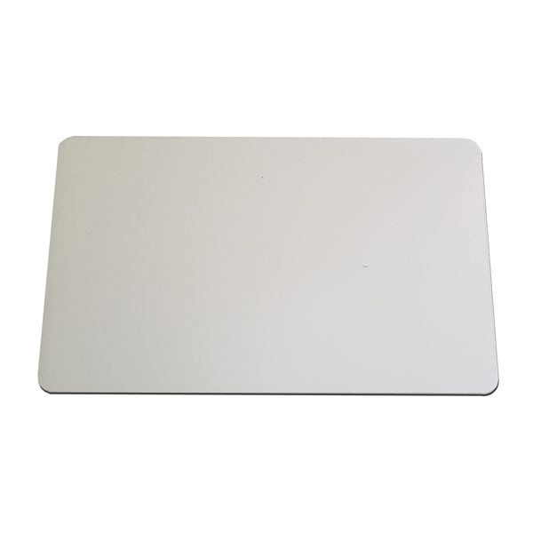 Tábua de Corte Grande em Polietileno 15 mm Branca 30 x 50