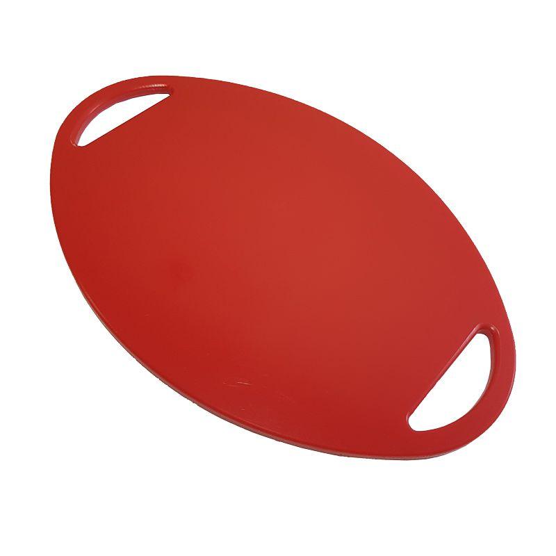 Tábua de Polietileno para Cortar e Servir Vermelha 24 x 36 x 1 cm