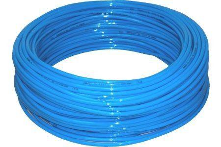 55 Metros Tubo Pu Azul 8 X 5,5 Mm - Mangueira Pneumática