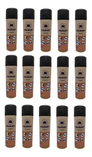 15 Tinta Preto Fosco Plasti K Spray Para Plástico Colorart