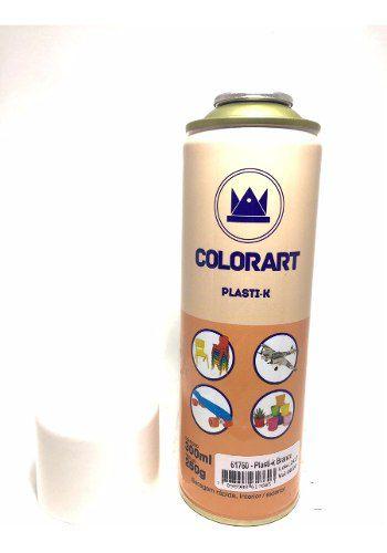 Tinta Branco Plasti K Spray Para Plástico Colorart Aderência