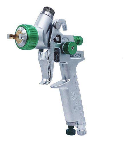 02 Pistola De Pintura Gravidade Wimpel Hvlp Bico 1.0 Mp-201
