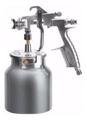 Pistola De Pintura Sucção Steula Bico 1.2 Caneca 820 Ml