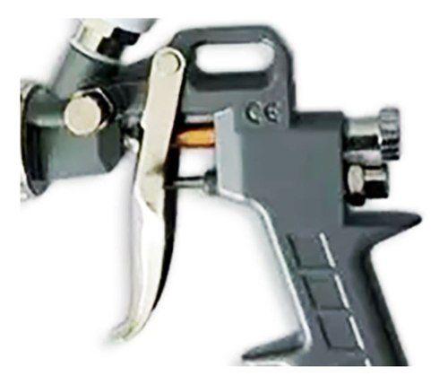 Pistola De Pintura Com 3 Bicos 1.2 1.5 E 1.8 Caneca 600 Ml
