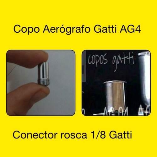 Copo Gatti Ag-4 + Conector Rosca 1/8 Bsp  Gatti