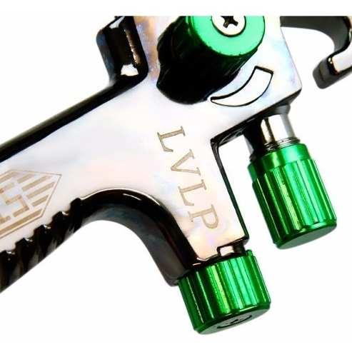 Pistola De Pintura Lvlp Bico 1.3 Steula E Caneca Extra 600ml