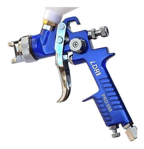 Pistola De Pintura Automotiva Hvlp Pro-550 1.4 600 Ml