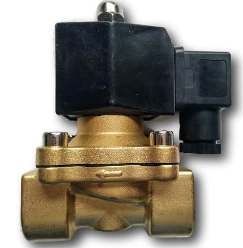 Kit 5 Válvula Solenoide Ø 1 Polegada Normal Aberta 2/2 24vs