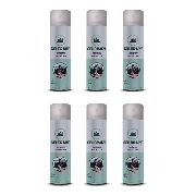 6 Verniz Spray Colorart Protector Fosco Papel Gesso Metais