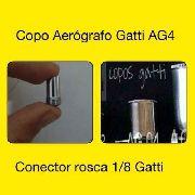 Copo Gatti Ag-4 + Conector Rosca 1/8 Bsp Original Gatti