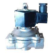 Válvula Solenoide Aço Inox 2/2 Vias N-fechada 1/2 Bsp 24vcc