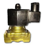Válvula Solenóide Rosca 3/4 Bsp 2/2 Via Nf Água/óleo/ar 24vs