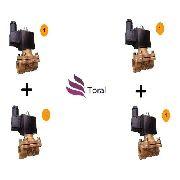 2 Válvula Solenoide N.a 1 Pol+2 Válvula Solenoide N.f 1 Pol