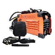 Mini Maquina Solda Inversora 225 Mma 220v Portatil Usk