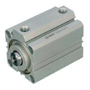 Cilindro Pneumático Compacto 25 X 15 Mm Rosca Fêmea