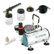Compressor Wimpel Comp1 Bivolt+kit Aerógrafo Mp1000 Wimpel