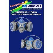 Respirador Máscara Para Pintura Wimpel Modelo 2018 Duplo