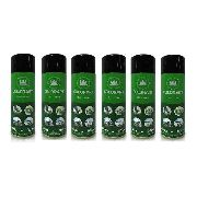 Kit 06 Tinta Spray Colorart Uso Geral 300ml Preto Brilhante