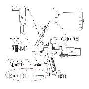 Regulador De Fluxo De Ar Pistola Wimpel Mp-105 Peça Nº 26