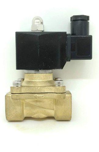 Válvula Solenóide Rosca 3/4 Bsp 2/2 Via Nf Água/óleo/ar 110v