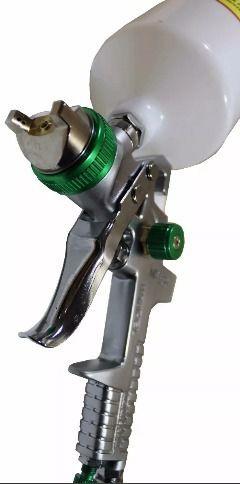 Pistola De Pintura Hvlp Wimpel Mp-250 Bicos 1.7 E 1.4 600 Ml
