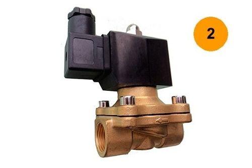 Válvula Solenóide Nf 2 Bsp P/ 80°c 2/2 Via Água/óleo/ar 220v